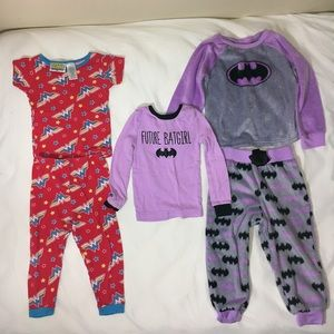 Other - Superhero pajama bundle